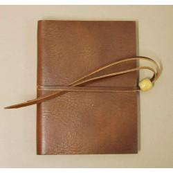 Quaderno - Diario 12x16,5 pelle - Collezione Silvia